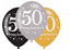 AGE-50-Happy-50th-Birthday-BLACK-amp-GOLD-SPARKLES-Party-Range-Banners-Balloons thumbnail 23