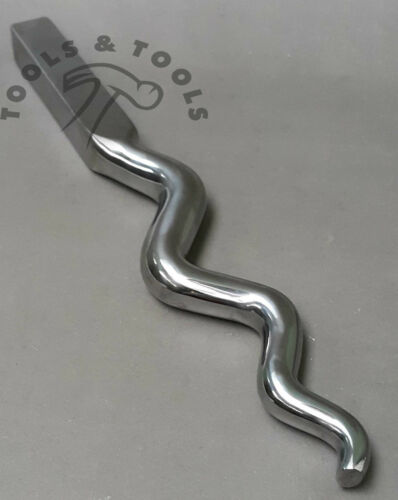 Heavy Duty Highly Polished Medium Jewelry Making Forming Sinusoidal Stake 11.5/'/'