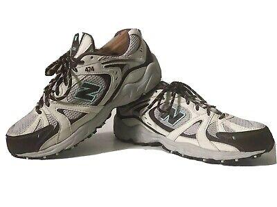 New Balance 474 Women's All Terrain Shoes Size 9.5 D Hiking Trail Brown Blue EUC   eBay
