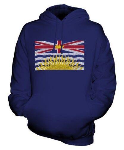 Britisch Columbia State Scribble Flag Unisex Kapuzenpulli Top Geschenk Britisch
