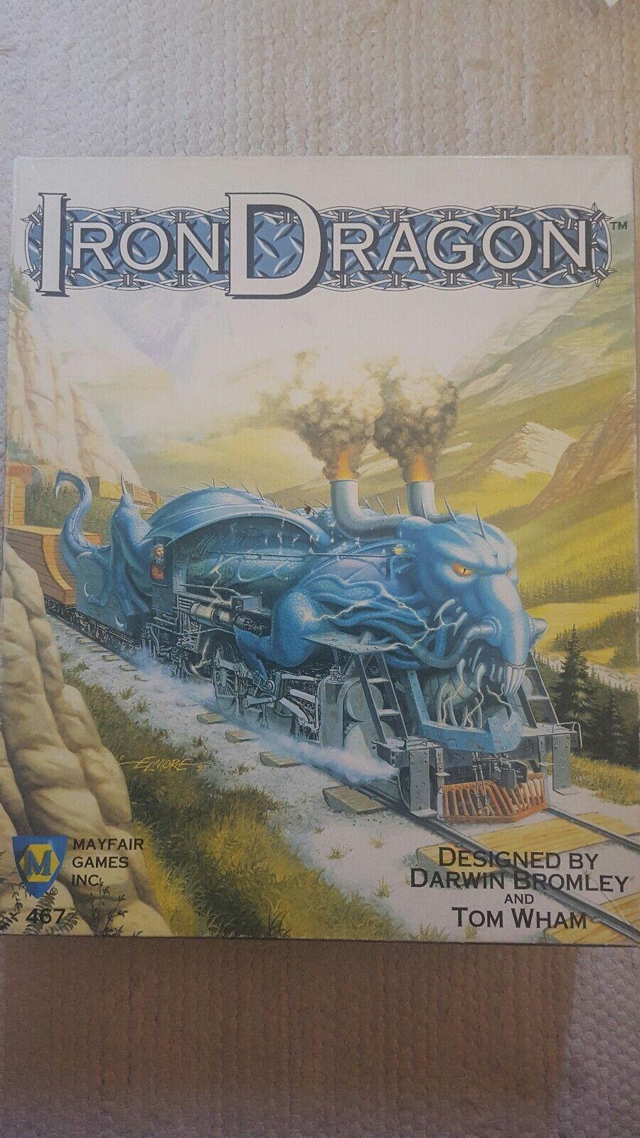 Iron Dragon  Railcostruzione In A fantasyc Le 1994 Mayfair giocos 1st edizione  la migliore offerta del negozio online
