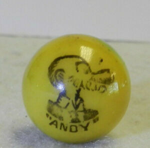 9992m-Mint-Peltier-Glass-Andy-Comic-Picture-Vintage-Marble-66-Inches