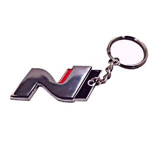 Details about Hyundai i30 N Logo Keychain Keyring Enthusiast Veloster  Performance
