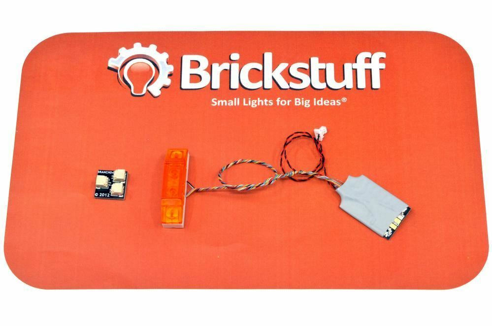 Brickstuff 4-Wide uinversal Lightbar con schemi di illuminazione 12-QK12