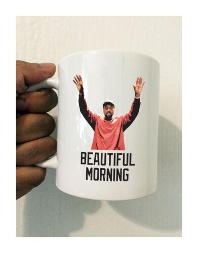 KANYE WEST BEAUTIFUL MORNING 11 OZ COFFEE MUG PABLO YE