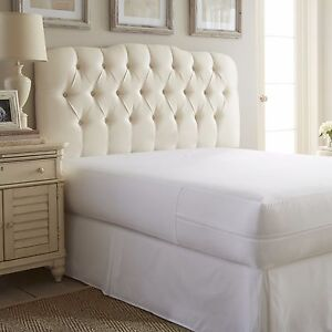 Hotel Quality Zippered Mattress Protector - 100% Bed Bug Proof