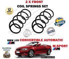für BMW 135 M Sport Automat Cabrio 2008> NEU 2 x vordere SPIRALFEDERN Set