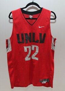 new product 793d4 4e4bc Details about Nike UNLV REBELS Jersey NCAA Basketball Sewn Men Size Medium  Red (EUC)