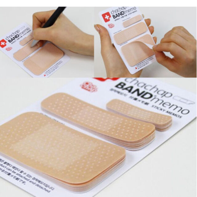 Unique Band Aid Post Sticky Notes Stationery for Kids Students Nurse Agecares