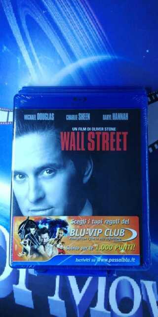 Wall Street *Blu-Ray* nuovo