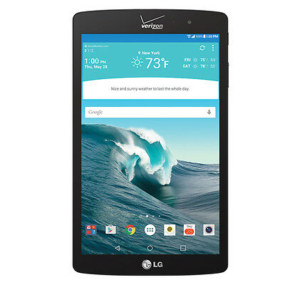 LG G Pad VK815 16GB, Wi-Fi + 4G (Verizon) - Black