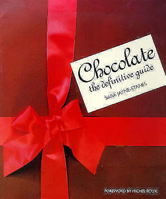 1 of 1 - Chocolate: The Definitive Guide, Jayne-Stanes, Sara, Excellent Book