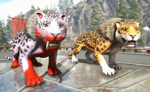 Ark-Survival-Evolved-Xbox-One-PvE-Genesis-X-Sabertooth-Unleveled-Mutated-213