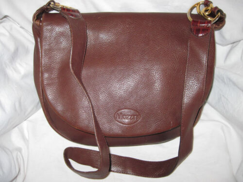 Bag À Authentique beg Cuir Vintage Main Mazzini Sac t Rnnv8Px