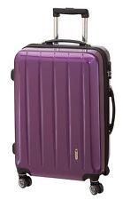 Trolley Hartschale 70 cm Koffer Trolly 4 Rad m TSA Schloß London  lila