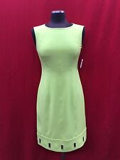 """ANNE KLEIN DRESS/NEW WITH TAG/SIZE 16/LINED/RETAIL$129/GREEN/LENGTH 39"""""""