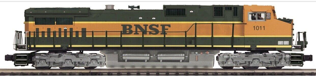 MTH PREMIER BNSF PUMPKIN DASH 9 DIESEL ENGINE PredOSOUND 3.0 LN BOX PS3