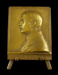 Medaille-Jean-Faure-Congres-int-de-pharmacie-1925-Val-de-Grace-Henry-Nocq-medal