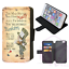ALICE-IN-WONDERLAND-Mad-Hatter-Wallet-Flip-Phone-Case-iPhone-4-5-6-7-8-Plus-X thumbnail 11