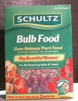 Schultz 00409 Bulb Food For Plants 4 Lb.box Slow Release Action Free Shipping
