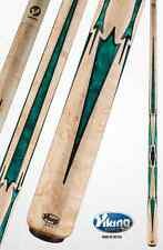 Viking A864 Green Pearl Inlay Pool Cue w/ ViKORE Shaft w/ FREE Shipping