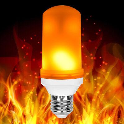 E27 LED Flame Effect Fire Light Bulbs