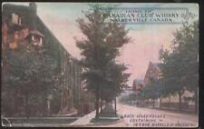 Postcard WALKERVILLE Ontario/CANADA  Whiskey Barrel Rack Warehouses 1907