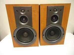 Image Is Loading Yamaha NX GX500 Bookshelf Stereo Speakers Home Theater