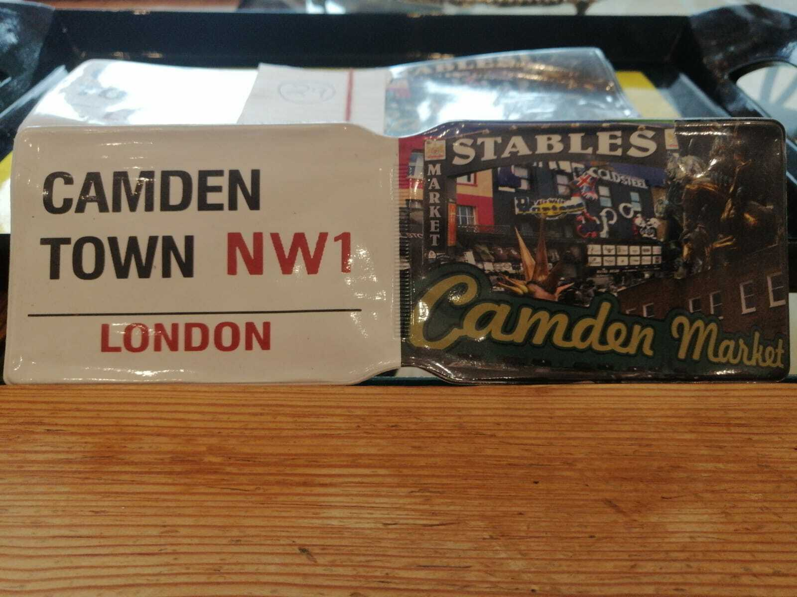 CAMDEN TOWN PASS CREDIT TRAVEL RAIL SLIM ID HOLDER WALLET FOR OYSTER CARD