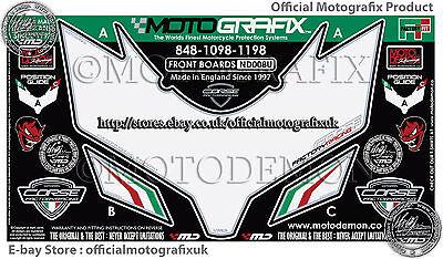 Ducati 748 916 996 998 93-02 Front Number Board Motografix 3D Gel Protector