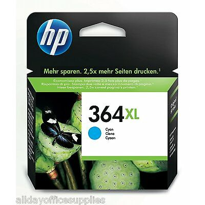 Original HP 364XL Cyan Ink Cartridge (High Capacity) New, Boxed, Vat Included