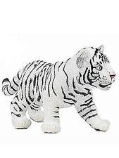 Papo White Tiger Cub Toy Figurine 50048 NEW