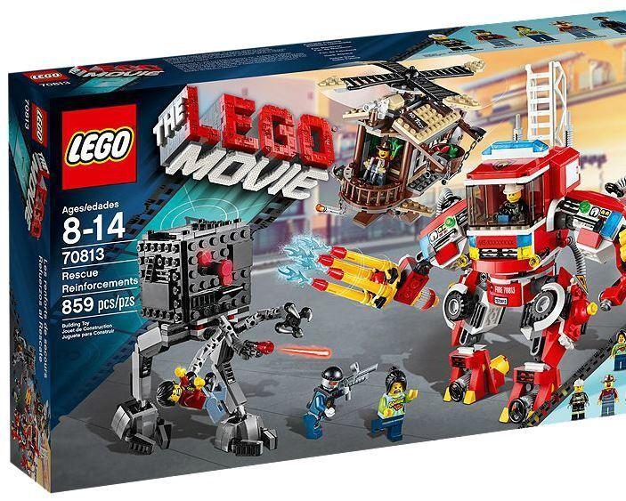 LEGO Movie 70813 moulin à vent et pompiers robot renforcement