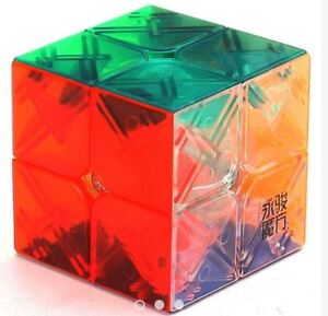 YongJun-Yupo-2x2-Speed-Rubik-039-s-Cube-Transparent