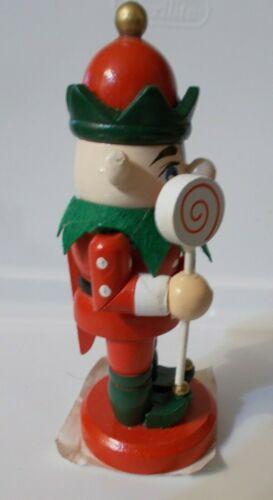 "NWT Christmas Wooden Nutcracker Soldier Table Ornament Decor 5/"""