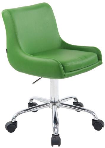 Fauteuil de Travail Club Similicuir Chaise de Bureau Design Réglable en Hauteur