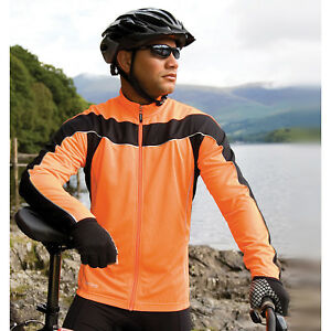 Spiro Mens Bikewear Long Sleeves Performance Tshirt Active Wear UV Safe Tee Tops