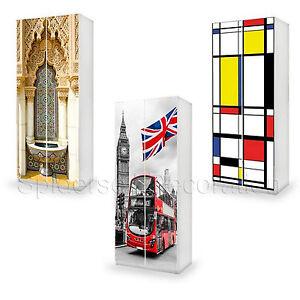 Stickers Per Ante Armadio.Adesivo Per Mobili Ikea Top Quality Rivestimento Pax O