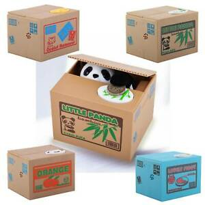 Piggy-Bank-Money-Coin-Saving-Box-Kids-Gift-Panda-Cat-Storage-HK