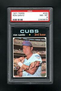 1971-TOPPS-220-RON-SANTO-HOF-CHICAGO-CUBS-PSA-8-NM-MT-CENTERED