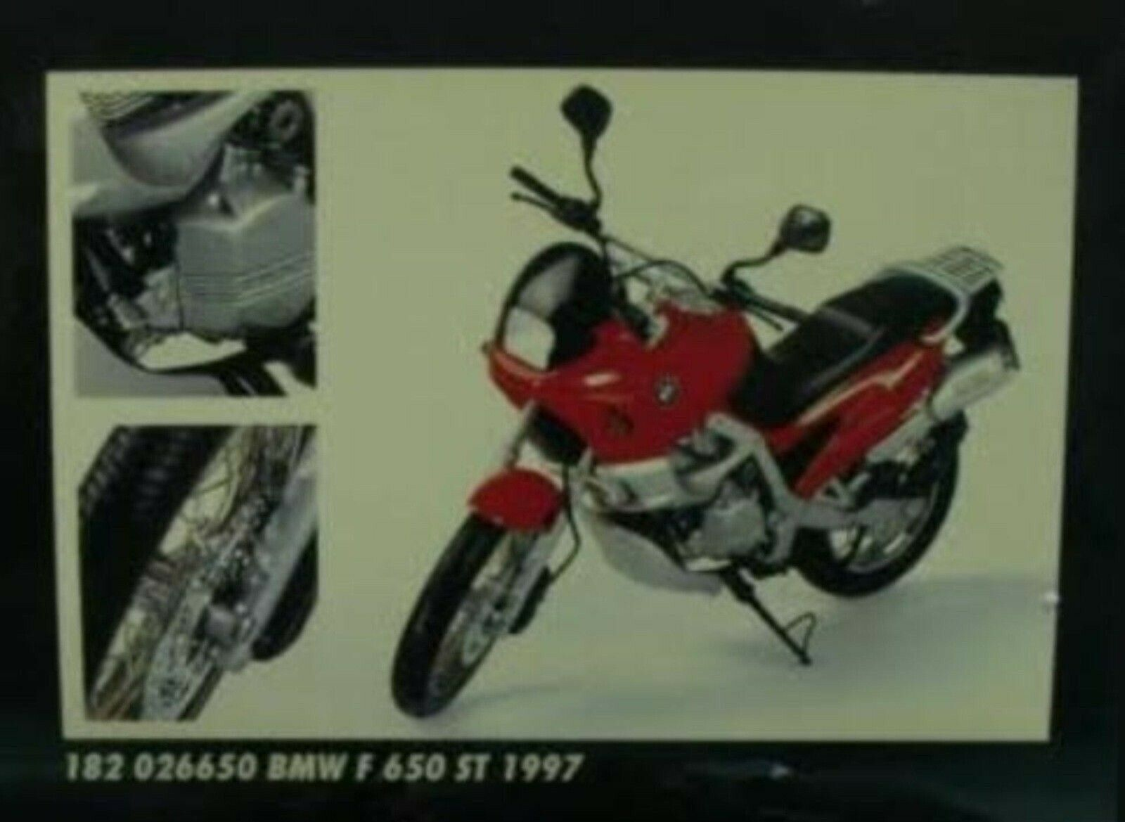 WOW EXTREMELY RARE BMW F650 ST Strada 1997 Red 1 18 Minichamps-R1100 K1200 R32