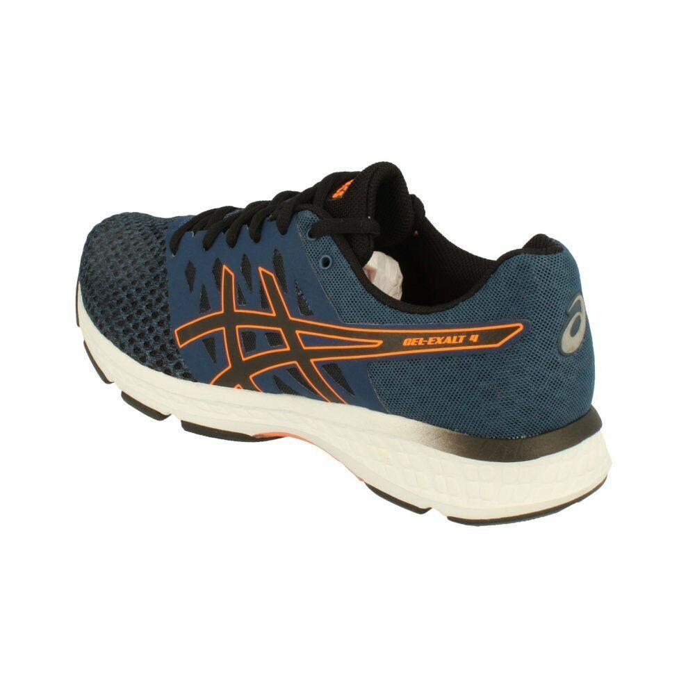 Zapatillas Asics Gel-Exalt 4 10.5 EU 46 azul oscuro negro naranja chocante