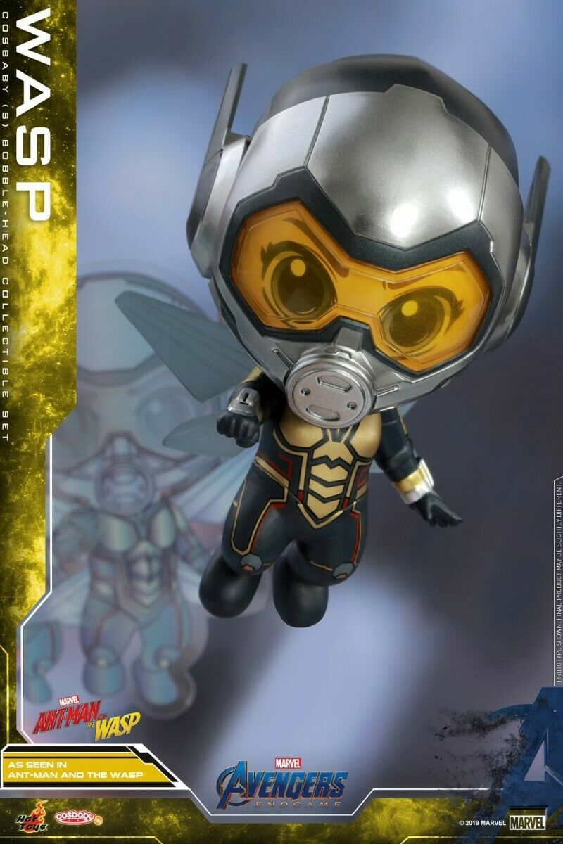 Hot Toys Cosbaby COSB568 Wasp Cosbaby (S) Bobble-Head Set Collectible