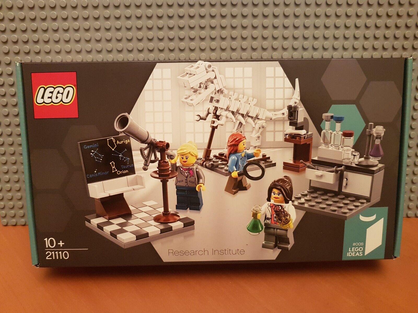 LEGO IDEAS   21110 Research Institute   RARE RETIRED✔ BNIB✔ NEW SEALED✔FAST P&P✔