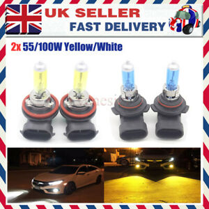 Audi A4 B6 100w Clear Xenon HID Low Dip Beam Headlight Headlamp Bulbs Pair