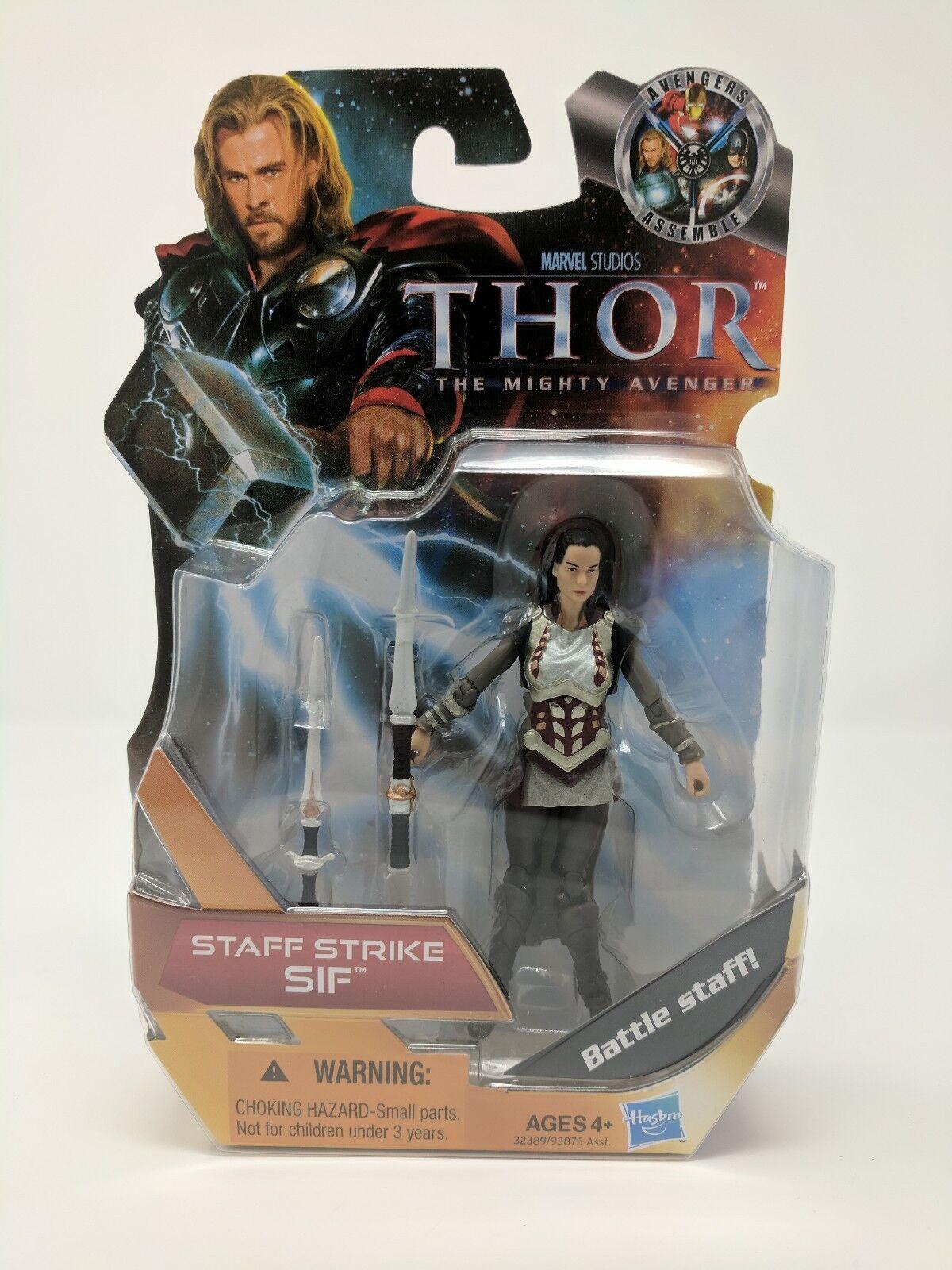 Marvel Thor, Staff Strike Sif 4  Action Figure 2011 Hasbro