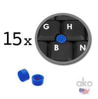 15x Laptop Keyboard Mouse Stick/point Cap Trackpoint For Hp Series