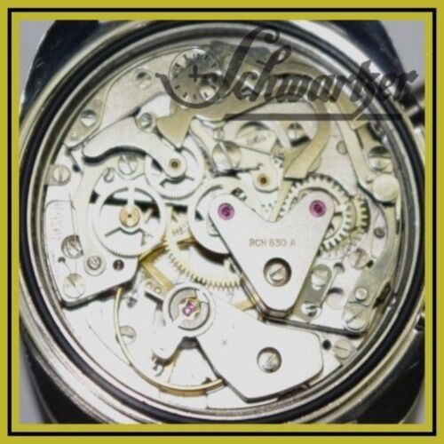 Reparatur Revision Überholung Chrono mechanische Handaufzug Chronograph