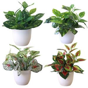 Am-Fresh-Artificial-Foliage-Plant-Pot-Bonsai-Party-Mall-Room-Desktop-Office-Dec