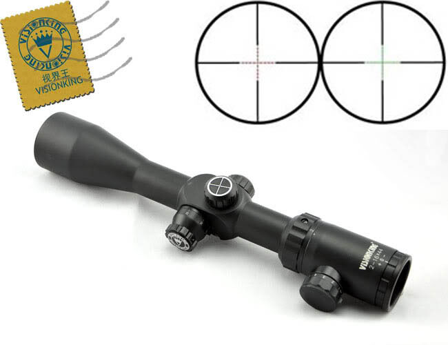 Visionking 2-16x44 Rifle Scope Mil dot Side Focus Tactical Sight .223 .308 .338